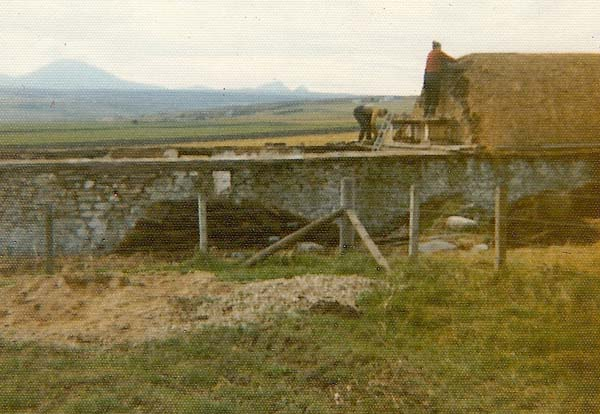Roofing the longhouse